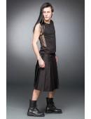 Черный килт с навесным карманом (204085) - оригинальная одежда, 2