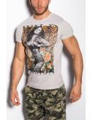 Мужская футболка с принтом MF2001 (202001) - цена, 4