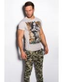 Мужская футболка с принтом MF2001 (202001) - foto
