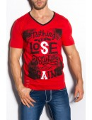 Красная футболка мужская MF2010 (202010) - оригинальная одежда, 2