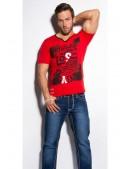 Красная футболка мужская MF2010 (202010) - цена, 4