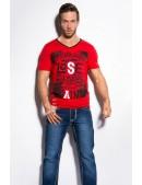 Красная футболка мужская MF2010 (202010) - foto