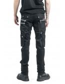 Черные мужские брюки с накладными карманами XTC7004 (207004) - оригинальная одежда, 2