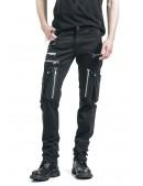 Черные мужские брюки с накладными карманами XTC7004 (207004) - foto