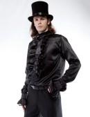 Мужская рубашка с жабо (202005) - оригинальная одежда, 2
