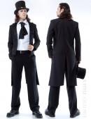 Мужской фрак с жилеткой, манишкой и шарфом (205001) - foto