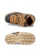 Кожаные кроссовки на платформе Alaska Marino (106-C73-MARINO) - 5, 12