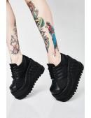 Кроссовки на высокой платформе Demonia (314001) - цена, 4