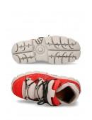 Красные кроссовки из нубука 106-C72 (M106-C72) - 5, 12