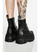 Кожаные ботинки на платформе NEW08321 (NEWMILI083-S21) - оригинальная одежда, 2