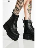 Кожаные ботинки на платформе NEW08321 (NEWMILI083-S21) - foto