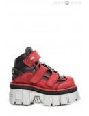 Ботинки кожаные ALASKA ROJO 285-S39 (285-S39) - foto