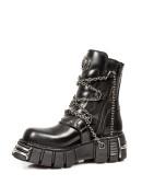 Ботинки мужские с цепями (1011-S1) - цена, 4