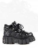 Ботинки на платформе (106-S1) - foto
