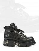 Ботинки мужские со шнуровкой (654-S1) - foto