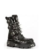 Ботинки с цепями и шипами (727-S1) - 5, 12