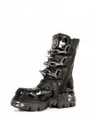 Ботинки с цепями и шипами (727-S1) - цена, 4