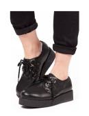 Кожаные туфли на платформе (311760) - цена, 4