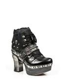 Кожаные ботиночки New Rock (Z009-C1) - цена, 4
