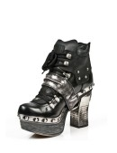 Кожаные ботиночки New Rock (Z009-C1) - оригинальная одежда, 2