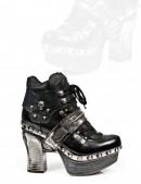Кожаные ботиночки New Rock (Z009-C1) - foto