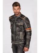 Мужская куртка из натуральной кожи New Rock (206109) - цена, 4