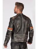 Мужская куртка из натуральной кожи New Rock (206109) - материал, 6