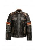 Мужская куртка из натуральной кожи New Rock (206109) - 4, 10
