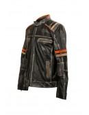Мужская куртка из натуральной кожи New Rock (206109) - 5, 12