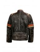 Мужская куртка из натуральной кожи New Rock (206109) - 6, 14