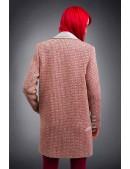 Демисезонное пальто из хлопкового твила X4035 (114035) - оригинальная одежда, 2