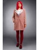 Демисезонное пальто из хлопкового твила X4035 (114035) - цена, 4