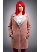 Демисезонное пальто из хлопкового твила X4035 (114035) - 3, 8