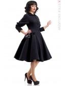 Винтажное пальто из натуральной шерсти X-Style (114043) - foto