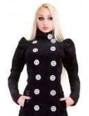 Длинное шерстяное пальто (весна-осень) X4054 (114054) - материал, 6