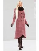 Винтажное пальто с корсетом и мехом X-STYLE (115044) - foto