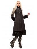 Зимнее пальто с корсетом и мехом Xstyle (115076) - цена, 4