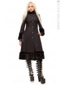 Зимнее пальто с корсетом и мехом Xstyle (115076) - foto