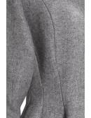 Винтажное демисезонное пальто из натуральной шерсти (114044) - цена, 4
