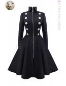 Шерстяное пальто в стиле Ретро Xstyle (114056) - foto