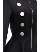 Шерстяное пальто в стиле Ретро Xstyle (114056) - материал, 6