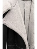 Дубленка женская натуральная с капюшоном V5079 (115079) - цена, 4