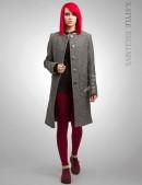 Твидовое пальто XT-34 (114034) - foto