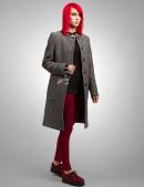 Твидовое пальто XT-34 (114034) - оригинальная одежда, 2