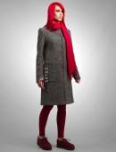 Твидовое пальто XT-34 (114034) - материал, 6