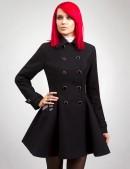Двубортное расклешенное пальто X-038 (114038) - цена, 4