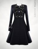 Пальто женское в стиле Ретро X-Style (114040) - 3, 8