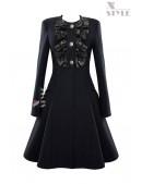 Пальто женское в стиле Ретро X-Style (114040) - foto