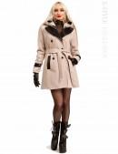Кашемировое зимнее пальто с капюшоном 115047 (115047) - цена, 4