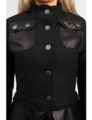 Зимнее пальто из коттона и кожи Xstyle (115063) - материал, 6